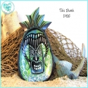Tiki Bath Painted Bowl - TB1416