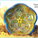 'Ripples' Water Lily mandala bowl TB1659