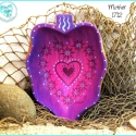'Mother' Heart Design Painted Bowl TB1712