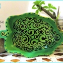'HeartFull' Painted Vine Bowl TB1714