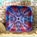'Niagara' Mandala Bowl in purple and blue TB1731