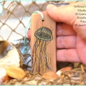 SOLD: Blue Jellyfish Orn DWOR18