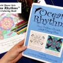 'Ocean Rhythms' Sealife Mandalas Adult Coloring Book - ORM