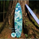 SOLD 'Enata' Surfboard Art - SB1
