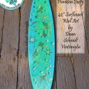 Plankton Surfboard Wall Art - SB7 Microscope Art