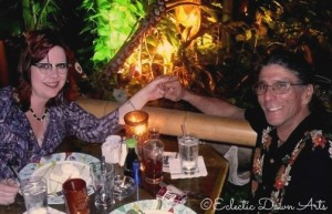 JohnnyV and Dawn at Mai Kai