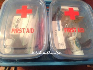 camper first aid kit