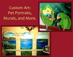 Custom Art by Dawn Ventimiglia of Eclectic Dawn Arts