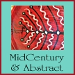 Shop for bowls featuring midcentury and abstract imagery by Dawn Schmidt Ventimiglia on EclecticDawnArts.com